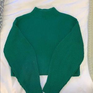 Tibi Cropped Sweater